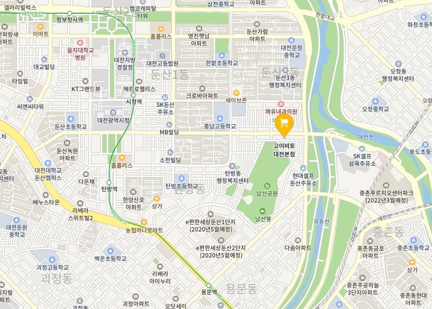 대전본점 지도